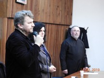 Миодраг Маричић, Весна Биорац, свештеник Драгиша Јоцић